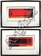 TWO GOVINDER NAZRAN LIMITED EDITION SILKSCREEN, Govinder Nazran, Click for value