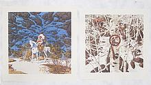 BEV DOOLITTLE OFFSET LITHOGRAPHS (California, born 1947) Titled