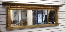 EMPIRE/VICTORIAN TRANSITIONAL GILTWOOD OVER MANTEL