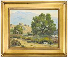 HOWARD ROLLIN LOY OIL ON CANVAS BOARD