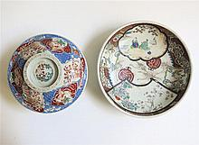 TWO MEIJI JAPANESE CERAMIC VESSELS including an