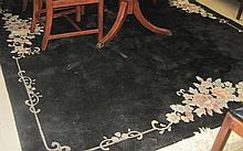 HAND KNOTTED CHINESE CARPET, featuring an