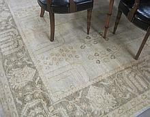 HAND KNOTTED ORIENTAL CARPET, Indo-Persian, 8'0