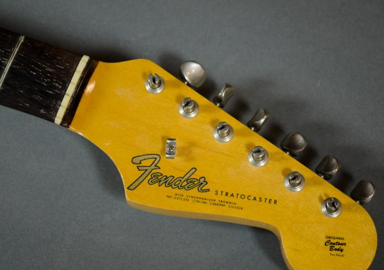 1954 FENDER STRATOCASTER ELECTRIC GUITAR, neck pla