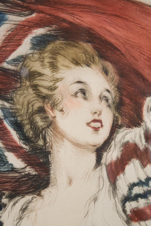 LOUIS ICART (New York, N.Y. 1888-1950) etching wi