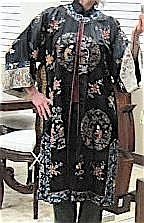 SEVEN CHINESE LADY'S ROBES, most are silk and hand