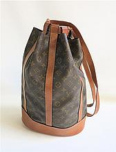 LOUIS VUITTON MONOGRAM CANVAS RONDONNEE BAG,