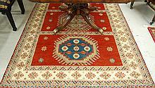 HAND KNOTTED ORIENTAL CARPET, Indo-Kazak, 3