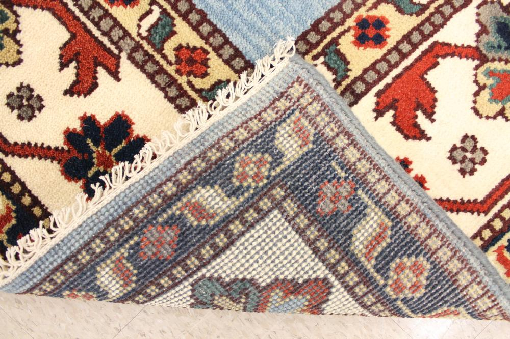 HAND KNOTTED ORIENTAL CARPET, Indo-Caucasian, thre