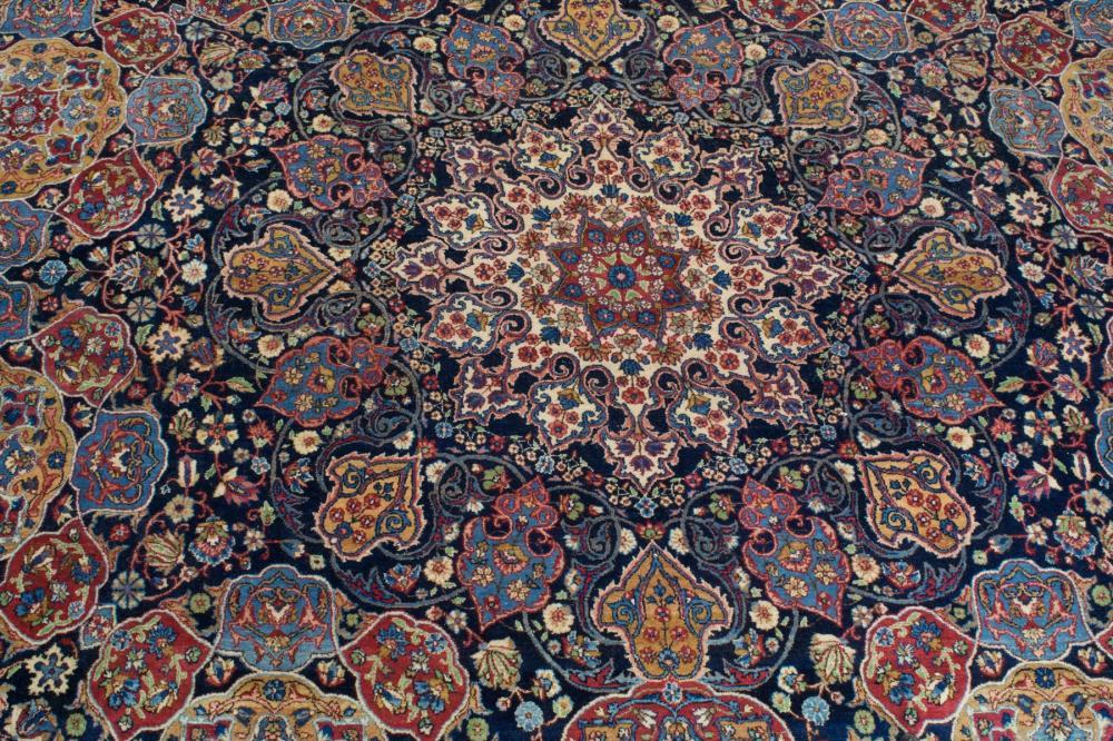 LARGE PERSIAN KERMAN PALACE CARPET, Kerman Provinc