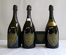 FOUR BOTTLES OF VINTAGE DOM PERIGNON FRENCH