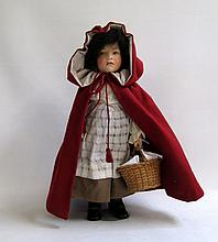 R. JOHN WRIGHT FELT DOLL, from the Children's