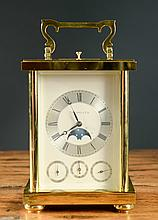 TIFFANY AND CO. PRESENTATION CARRIAGE CLOCK, with