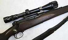 WINCHESTER MODEL 70 BOLT ACTION RIFLE, 270