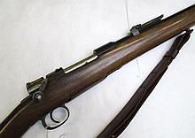 SPORTERIZED SPANISH MODEL 1893 BOLT ACTION MAUSER