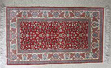 TURKISH SILK KAYSERI AREA RUG, Kayseri Province,