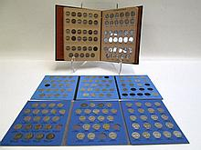 U.S. JEFFERSON NICKEL COLLECTION IN THREE ALBUMS,