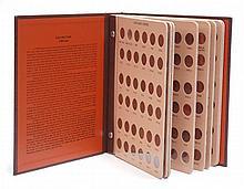 U.S. LINCOLN HEAD CENT COLLECTION IN ALBUM, 237
