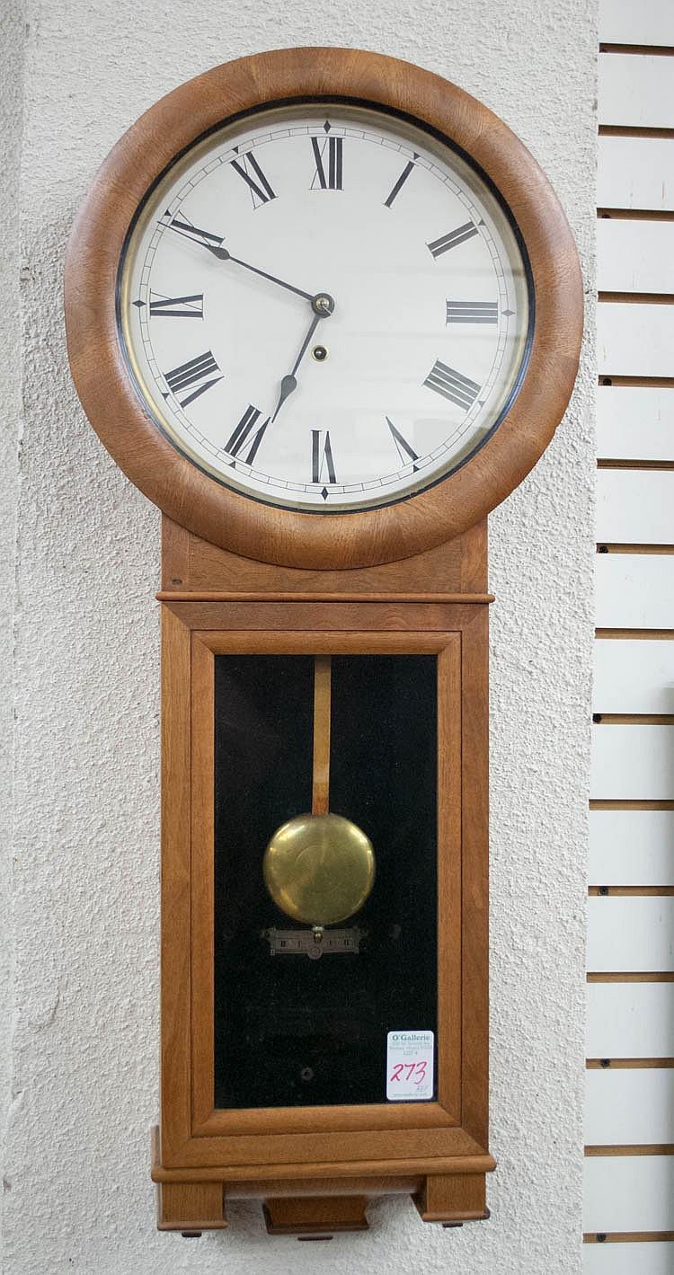 seth thomas long case wall clock seth thomas cloc