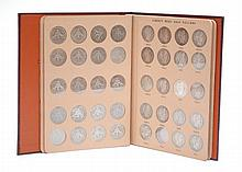 U.S. SILVER BARBER HALF DOLLAR COLLECTION IN