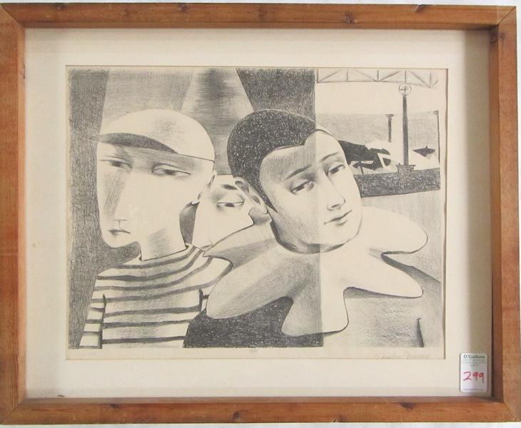 DEMETRIUS JAMESON LITHOGRAPH (Oregon/St. Louis, Mo. 1919-2006)