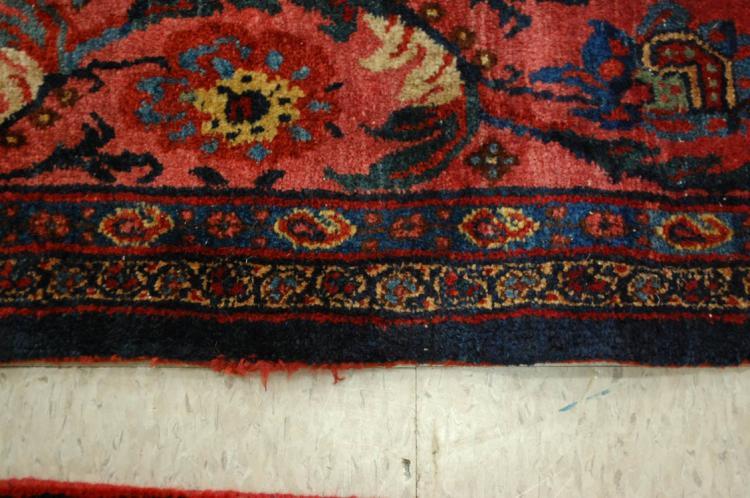 SEMI-ANTIQUE PERSIAN PALACE BIJAR (BIDJAR) CARPET,