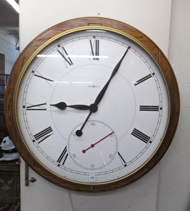 Howard Miller Large Wall Clock
