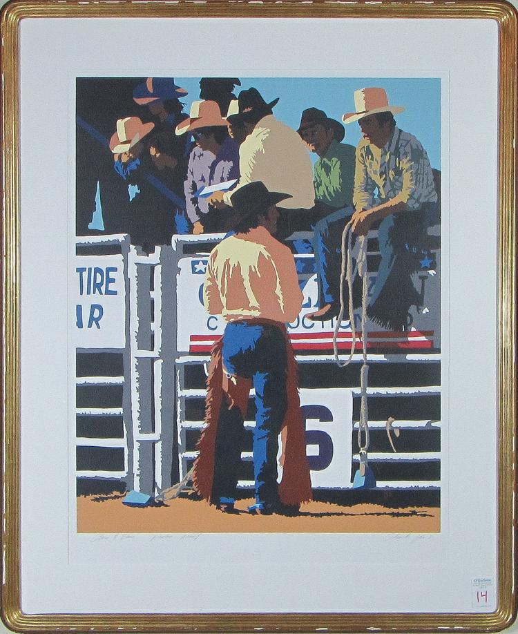 By Schenck And Company: BILL SCHENCK (New Mexico/Arizona/Ohio, Born 1947