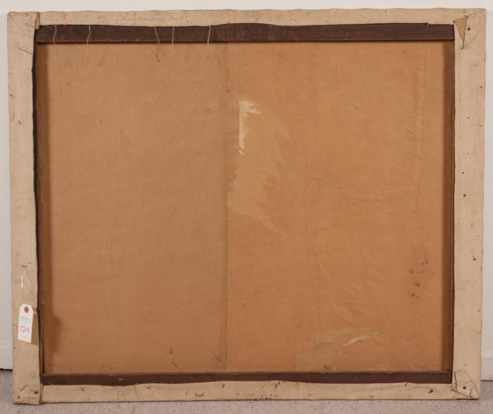ROCKWELL W. CAREY (Oregon, 1882-1954) oil on canva