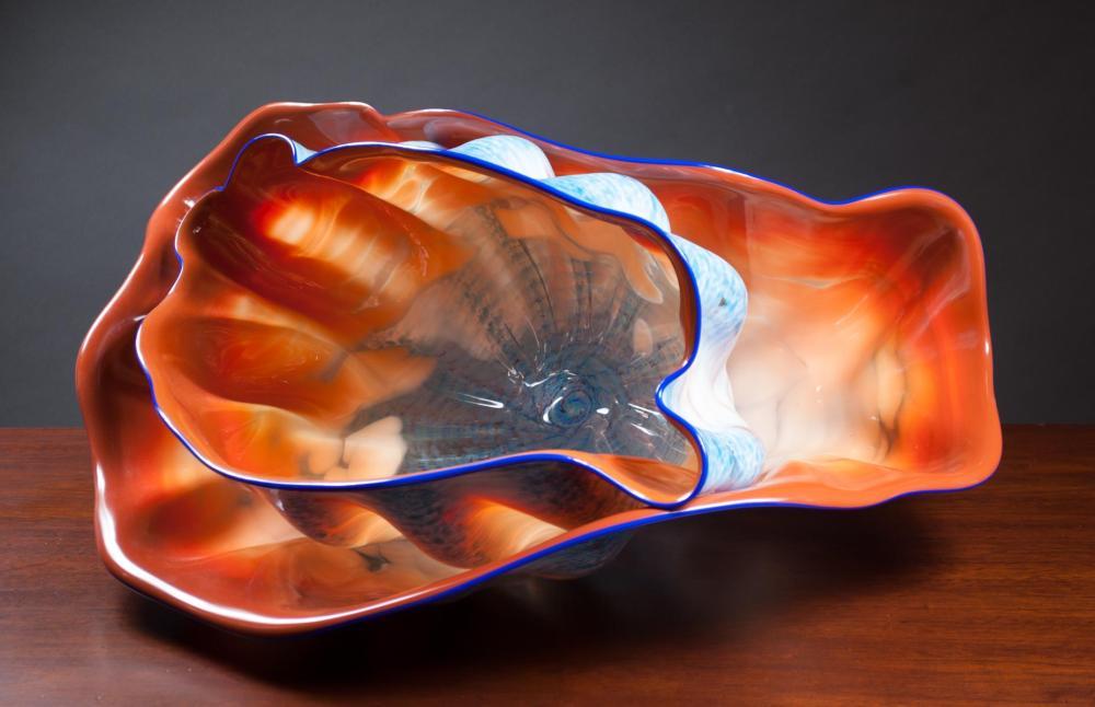 DALE CHIHULY (Washington, born 1941) Seaform Art G