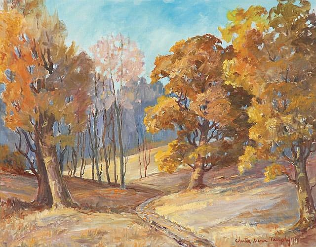 CHESTER GLENN MURPHY OIL ON CANVAS (Kansas/Oregon,