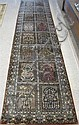 HAND KNOTTED ORIENTAL HALL CARPET, Indo-Saph,