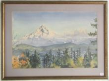 OWEN GOWARD WATERCOLOR ON PAPER (British Columbia,