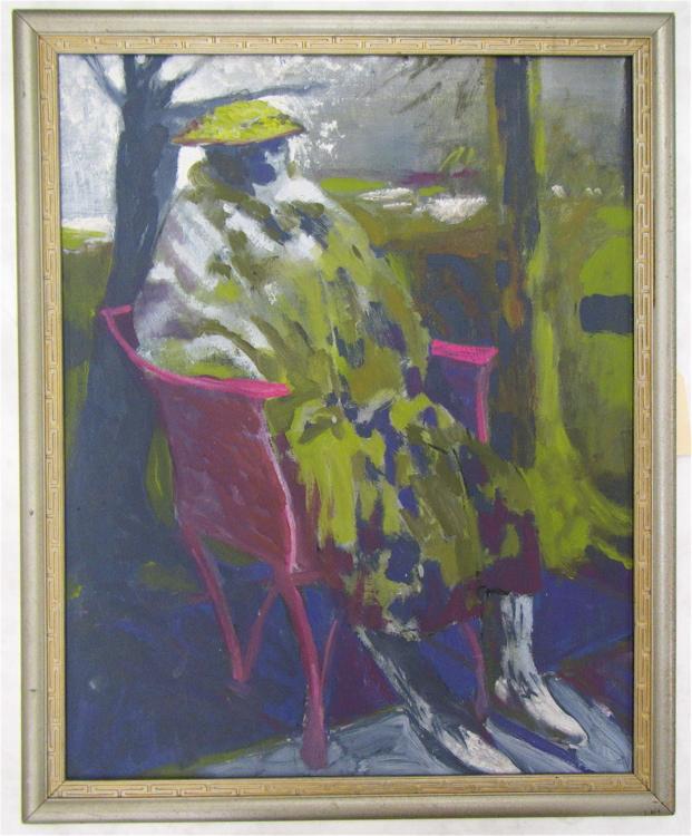 JAY BACKSTRAND OIL ON CANVAS (Oregon, born 1934)