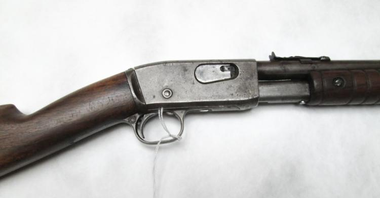 REMINGTON MODEL 12A SLIDE ACTION RIFLE, 22 s,l or