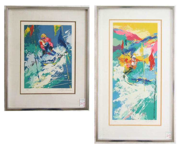 LEROY NEIMAN, TWO SERIGRAPHS (New York/Illinois, 1