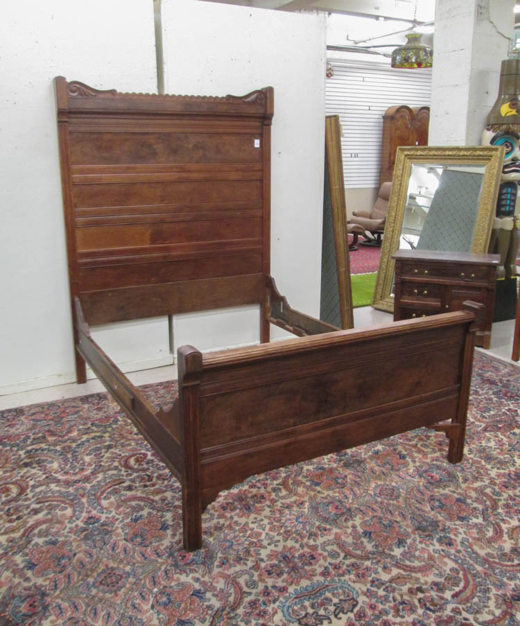 Three piece victorian walnut bedroom furniture set Victorian home furniture