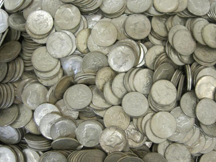 U.S. SILVER HALF DOLLAR COLLECTION, Kennedy type,