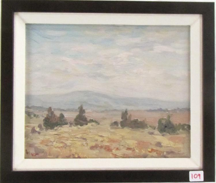 MELVILLE T. WIRE OIL ON CANVAS (Oregon, 1877-1966)