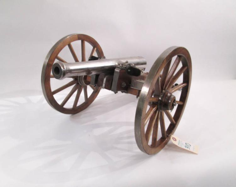 NAPOLEON III MODEL CANNON, reminiscent of the cann