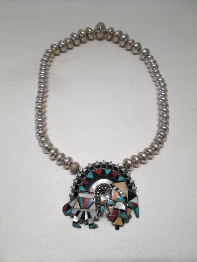 TWO PIECES OF SOUTHWEST NATIVE AMERICAN JEWELRY, t