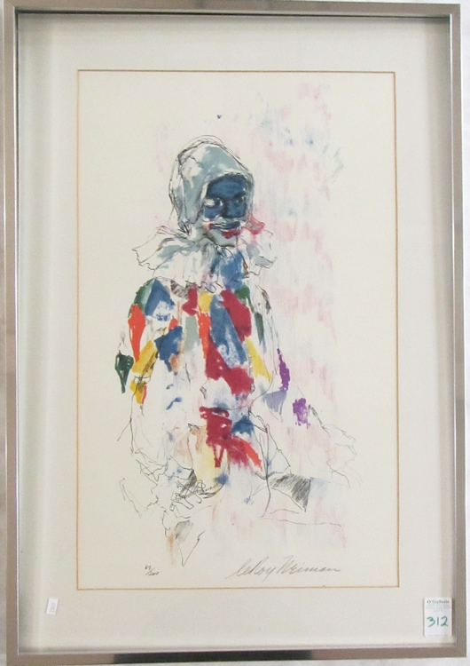 LEROY NEIMAN LITHOGRAPH (New York/Illinois, 1921-2
