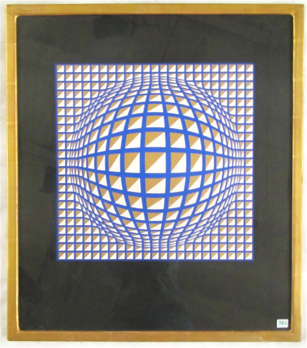 VICTOR VASARELY SERIGRAPH (Hungarian/French, 1908-