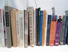 TWENTY-SIX HARDBACK DECORATIVE ART BOOKS including