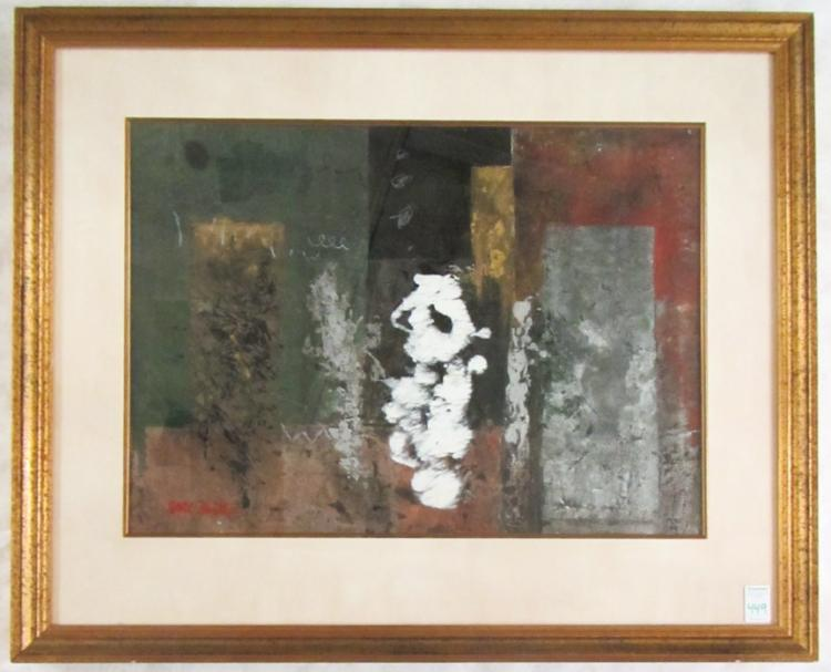 EARL HAMILTON MIXED MEDIA (Oregon, 20th century) A