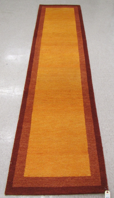 A CONTEMPORARY HAND KNOTTED RUNNER, Indo-Gabbeh, p