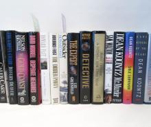 TWENTY HARDBACK BOOKS including original dust jack