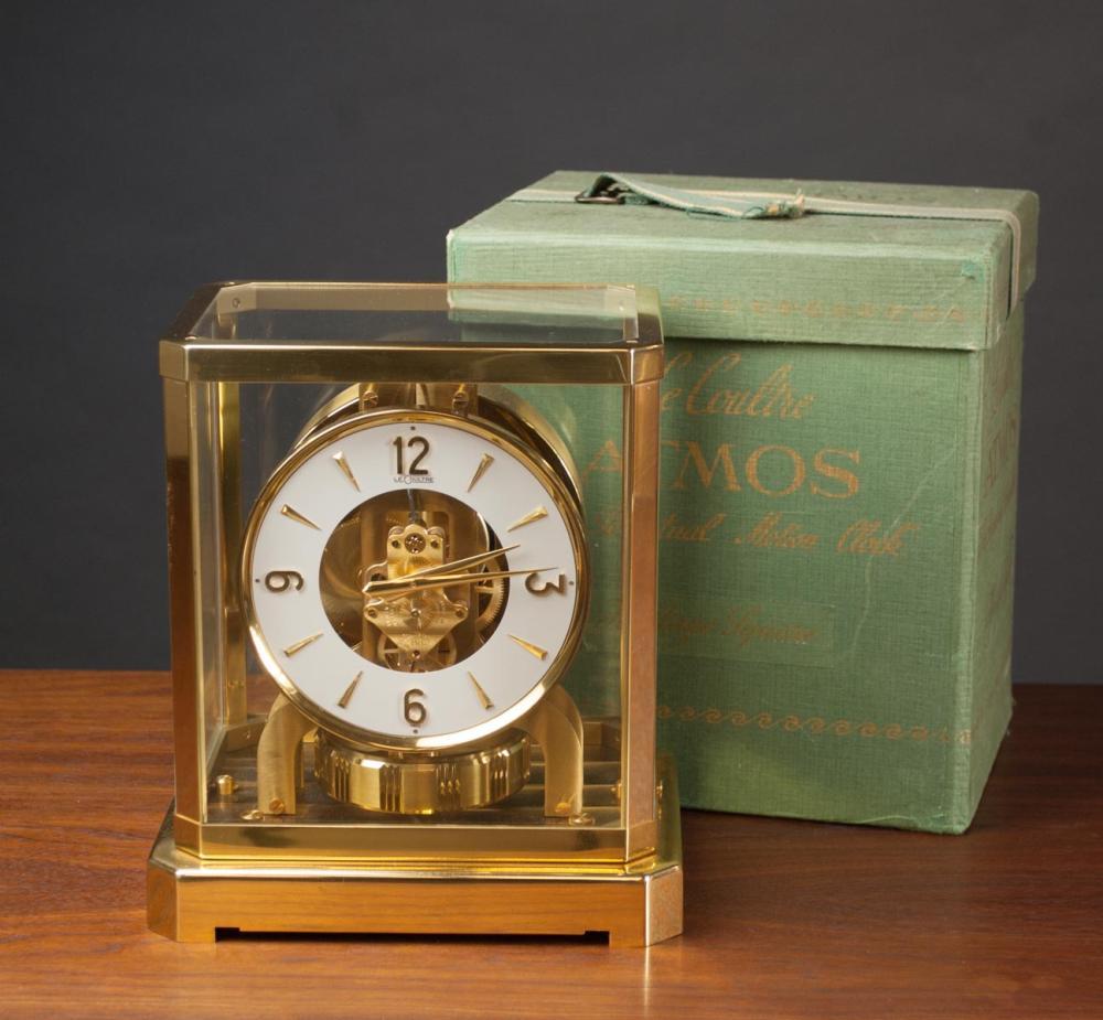 SWISS ATMOS CLOCK IN ORIGINAL BOX, LeCoultre & Cie