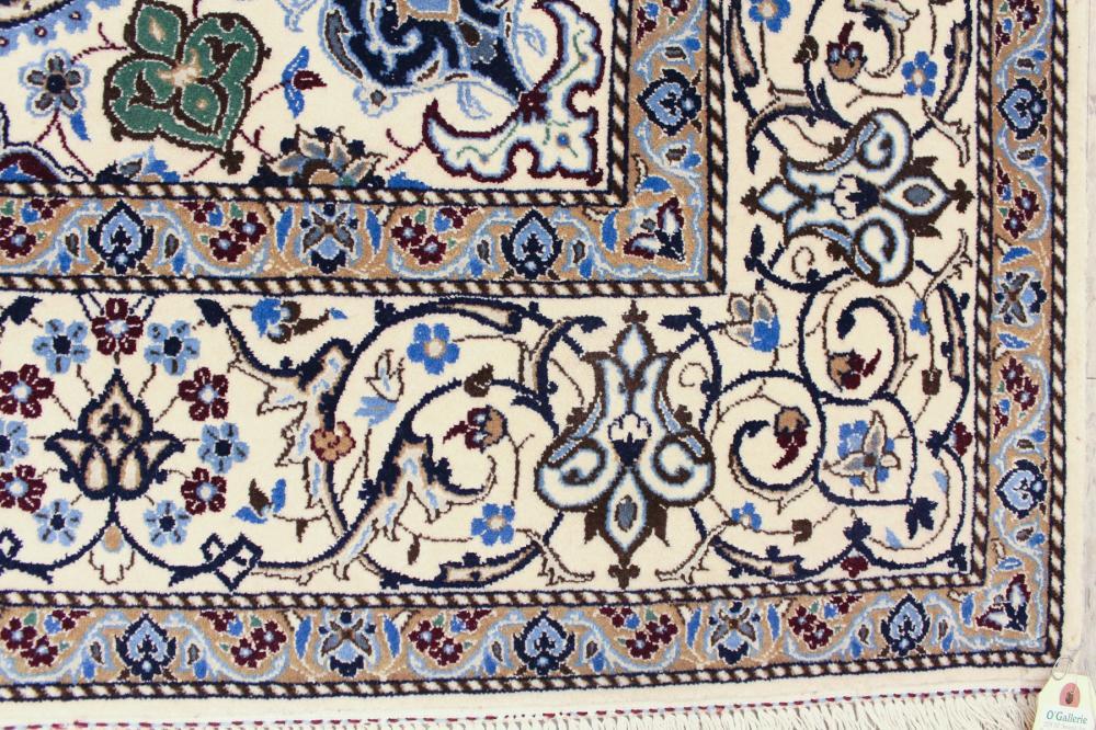 Lot 356: PERSIAN NAIN AREA RUG, Isfahan Province, central I