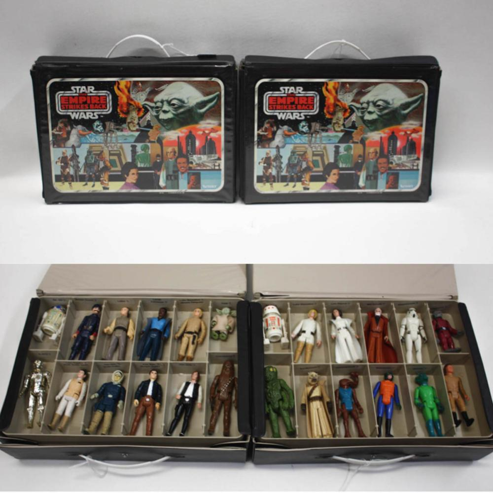 Lot 365: STAR WARS THE EMPIRE STRIKES BACK ACTION FIGURES W